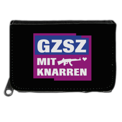 Motiv: Geldboerse - GZSZ mit Knarren