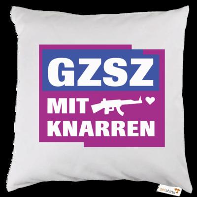 Motiv: Kissen - GZSZ mit Knarren
