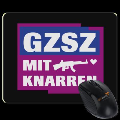 Motiv: Mousepad Textil - GZSZ mit Knarren
