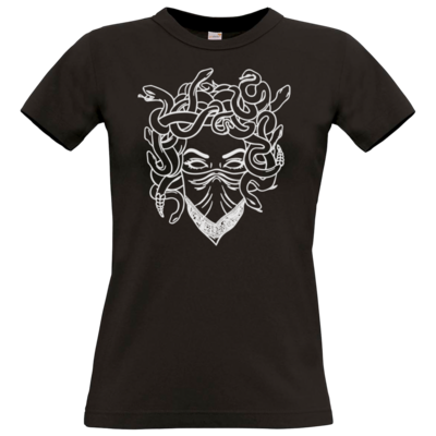 Motiv: T-Shirt Damen Premium FAIR WEAR - Medusa