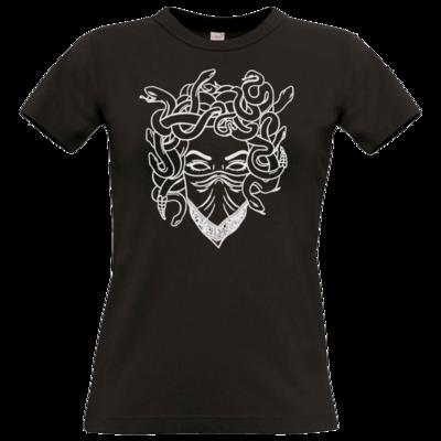 Motiv: T-Shirt Damen Premium FAIR WEAR - Medusa