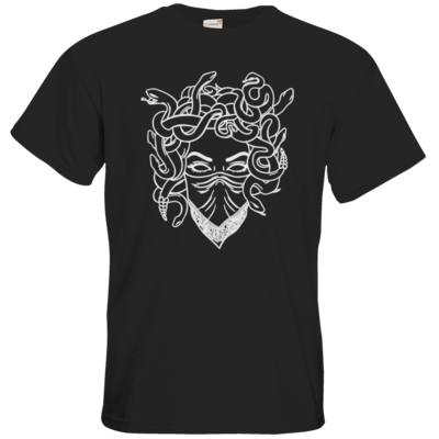 Motiv: T-Shirt Premium FAIR WEAR - Medusa