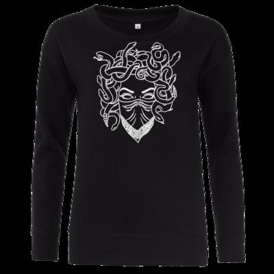 Motiv: Girlie Crew Sweatshirt - Medusa