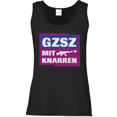 Motiv: Tank Top Damen Classic - GZSZ mit Knarren