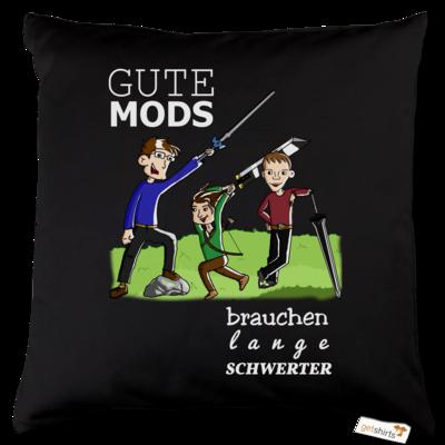 Motiv: Kissen Baumwolle - Mods mit Text 2