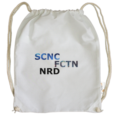 Motiv: Cotton Gymsac - Science Fiction Nerd | SCNC FCTN NRD