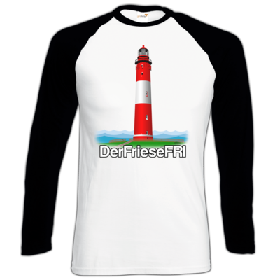 Motiv: Longsleeve Baseball T - DerFrieseFRI Logo ws