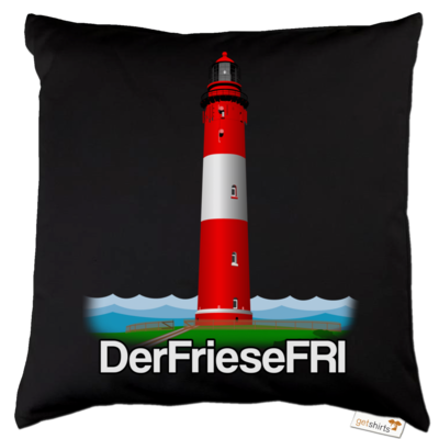 Motiv: Kissen Baumwolle - DerFrieseFRI Logo ws
