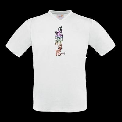 Motiv: T-Shirt V-Neck FAIR WEAR - Opa Finch color