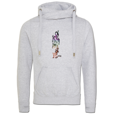 Motiv: Cross Neck Hoodie - Opa Finch color