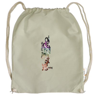Motiv: Cotton Gymsac - Opa Finch color
