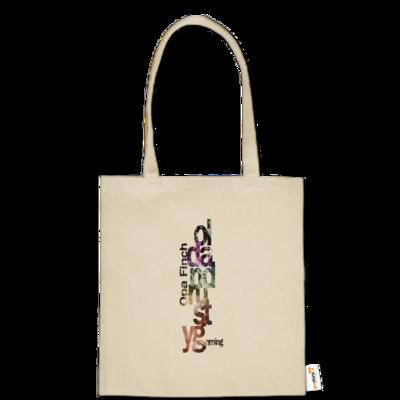 Motiv: Baumwolltasche - Opa Finch color