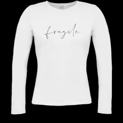 Motiv: Longsleeve Damen Organic - fragile