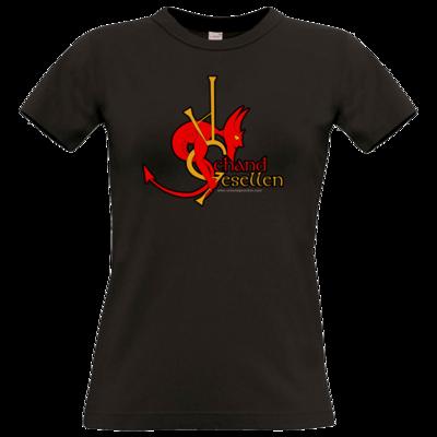 Motiv: T-Shirt Damen Premium FAIR WEAR - Schandgesellen Classic