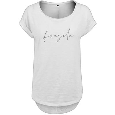 Motiv: Ladies Long Slub Tee - fragile