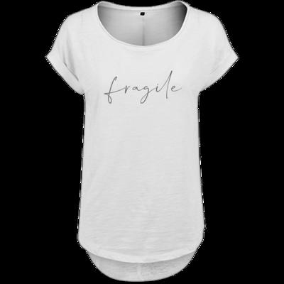 Motiv: Ladies Long Slub Tee - fragile