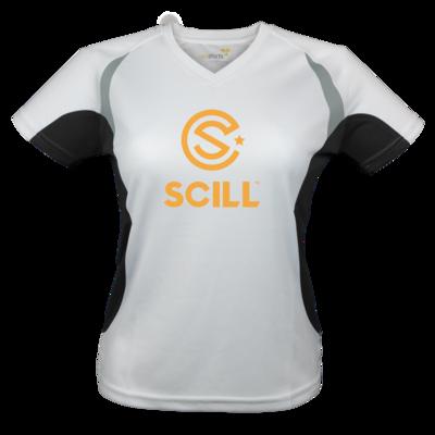 Motiv: Laufshirt Lady Running T - 4P | SCILL | Logo