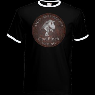 Motiv: T-Shirt Ringer - Opa Finch