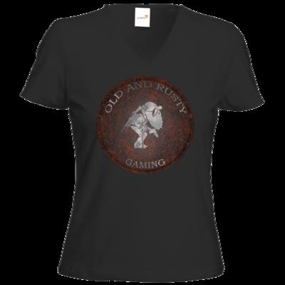 Motiv: T-Shirts Damen V-Neck FAIR WEAR - OARG