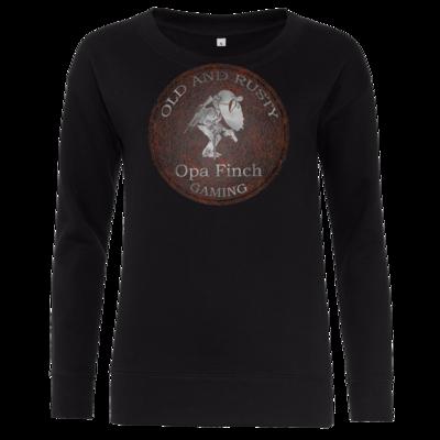 Motiv: Girlie Crew Sweatshirt - Opa Finch