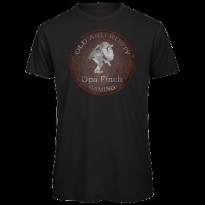 Motiv: Organic T-Shirt - Opa Finch