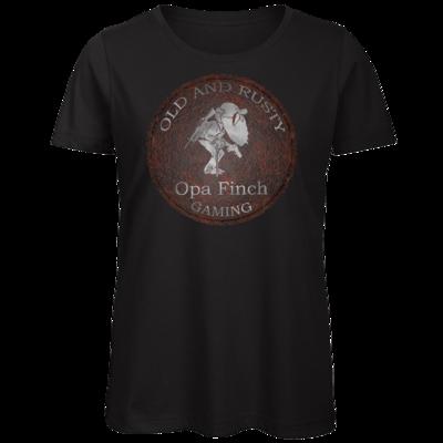 Motiv: Organic Lady T-Shirt - Opa Finch