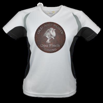 Motiv: Laufshirt Lady Running T - Opa Finch