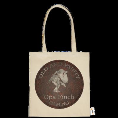 Motiv: Baumwolltasche - Opa Finch