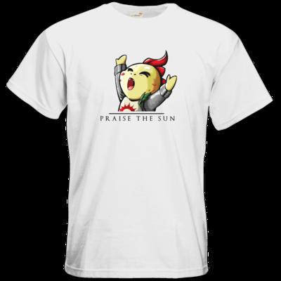 Motiv: T-Shirt Premium FAIR WEAR - Praise Schwarz