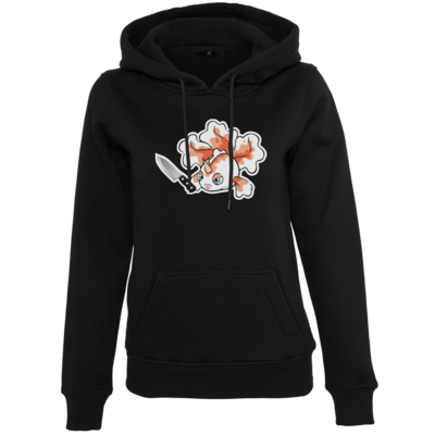 Motiv: Womens Heavy Hoody - Gangstini