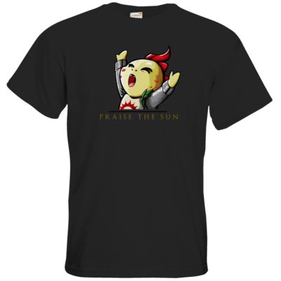 Motiv: T-Shirt Premium FAIR WEAR - Praise Gold