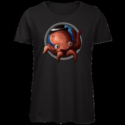 Motiv: Organic Lady T-Shirt - Der Kraken
