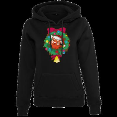 Motiv: Womens Heavy Hoody - Syrenia - Christmas