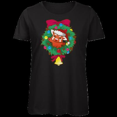 Motiv: Organic Lady T-Shirt - Syrenia - Christmas
