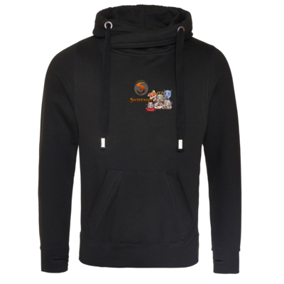 Motiv: Cross Neck Hoodie - Syrenia - Special Front