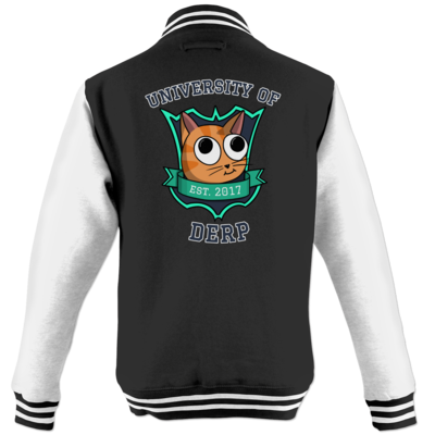 Motiv: College Jacke - University of Derp