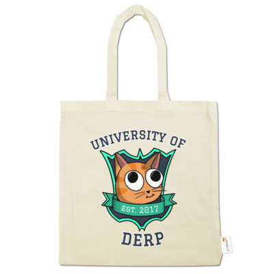 Motiv: Baumwolltasche - University of Derp