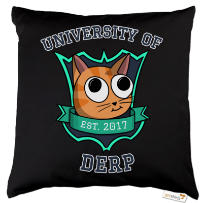 Motiv: Kissen Baumwolle - University of Derp