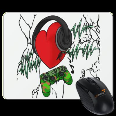 Motiv: Mousepad Textil - KonsoleBeat