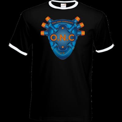 Motiv: T-Shirt Ringer - O.N.C LOGO