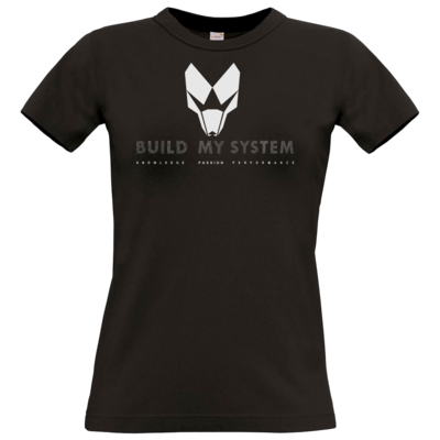 Motiv: T-Shirt Damen Premium FAIR WEAR - BUILD MY SYSTEM