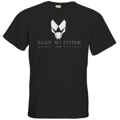 Motiv: T-Shirt Premium FAIR WEAR - BUILD MY SYSTEM