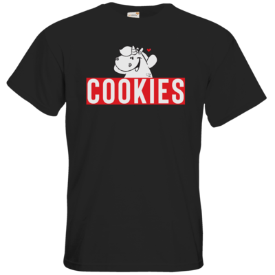 Motiv: T-Shirt Premium FAIR WEAR - Pummeleinhorn - COOKIES