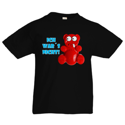 Motiv: Kids T-Shirt Premium FAIR WEAR - Lucky Bär - Ich war´s nicht! T-Shirt