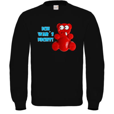 Motiv: Sweatshirt FAIR WEAR - Lucky Bär - Ich war´s nicht! T-Shirt
