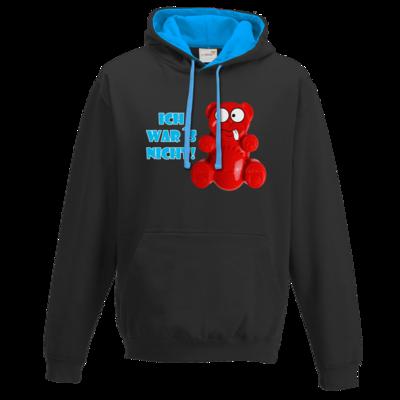 Motiv: Two-Tone Hoodie - Lucky Bär - Ich war´s nicht! T-Shirt