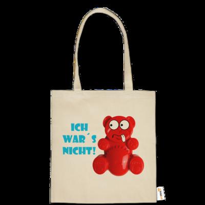 Motiv: Baumwolltasche - Lucky Bär - Ich war´s nicht! T-Shirt