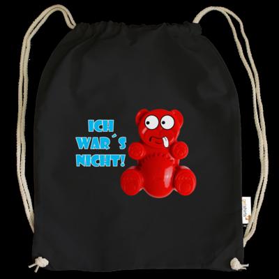 Motiv: Cotton Gymsac - Lucky Bär - Ich war´s nicht! T-Shirt