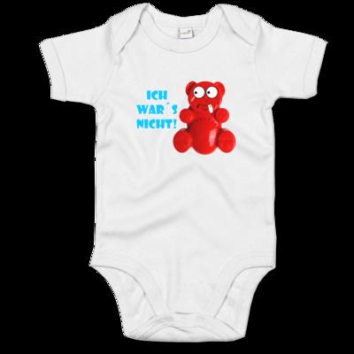 Motiv: Baby Body Organic - Lucky Bär - Ich war´s nicht! T-Shirt