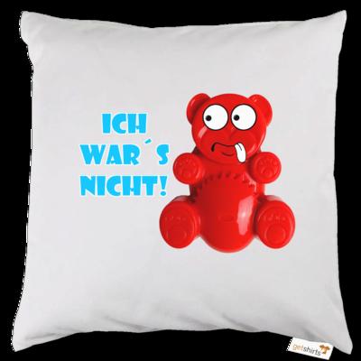 Motiv: Kissen - Lucky Bär - Ich war´s nicht! T-Shirt